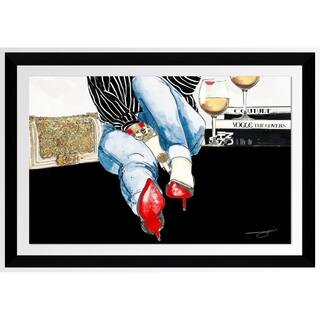 "BY Jodi ""Waiting On You 2"" Framed Acrylic Wall Art Décor"