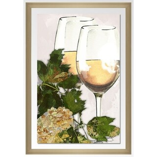 "BY Jodi ""By The Glass"" Framed Acrylic Wall Art Décor (3 options available)"