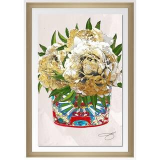 """BY Jodi """"Freshly Cut 2"""" Framed Acrylic Wall Art Decor"""