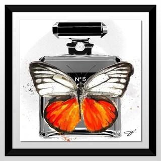 "BY Jodi ""In Flight"" Framed Acrylic Wall Art Decor"
