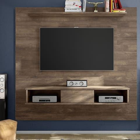 Carson Carrington Hitra Mid-century 2-shelf 70-inch TV Panel