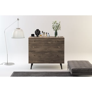 Carson Carrington Hitra Mid-century 3-drawer Dresser
