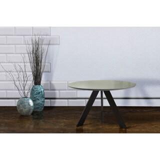 Carson Carrington Taastrup Round Mid Century Modern Indoor Dining Table