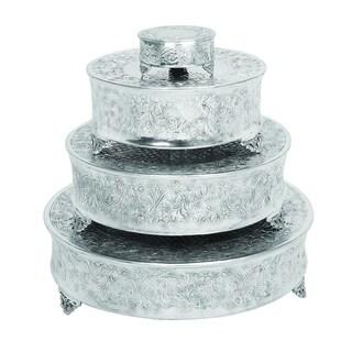 Aluminum Cake Stand Set Of 4 For Stylish Host