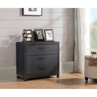 Spokane 3 Drawer Chest - Onyx