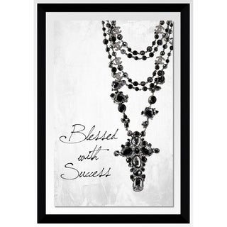"""Blessed With Success "" by Jodi Framed Acrylic Graphic Art Wall Decor"