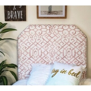 Jing Pink Twin/Twin XL Headboard (2 options available)