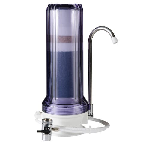 iSpring CT10 Countertop Multi Filtration Drinking Water Filter System