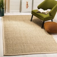 Safavieh Natural Fiber Contemporary Natural / Beige Seagrass Rug - 5' x 8'