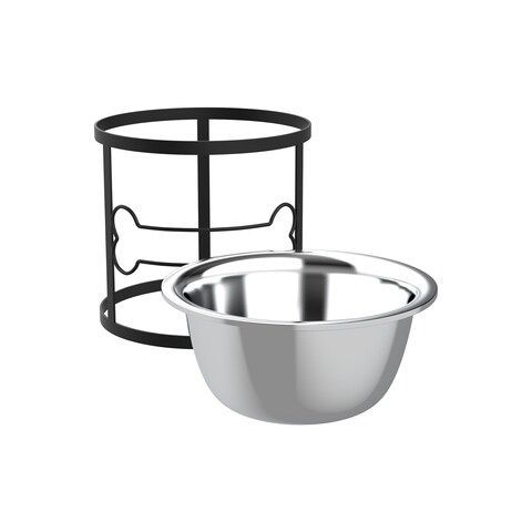 Elevated Pet Bowl (40 oz) By PETMAKER