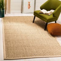 Safavieh Natural Fiber Contemporary Natural / Beige Seagrass Rug - 8' X 10'