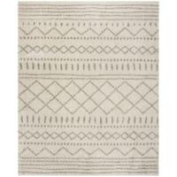 Safavieh Arizona Shag Ivory / Beige Rug (8' x 10') - 8' x 10'