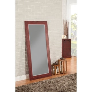 Sandberg Furniture Rustic Red Full Length Leaner Mirror