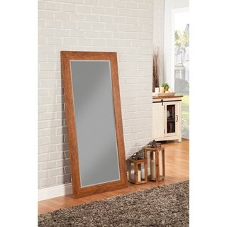 Sandberg Furniture Rustic Honey Tobacco Full Length Leaner Mirror - Brown