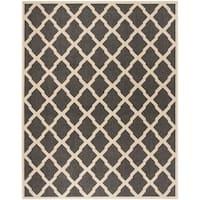 Safavieh Linden Contemporary Black / Creme Rug (9' x 12')