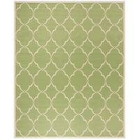 Safavieh Linden Contemporary Olive / Cream Rug (9' x 12') - 9' x 12'