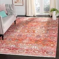 "Safavieh Vintage Persian Vintage Red / Orange Polyester Rug - 9' x 11'7"""