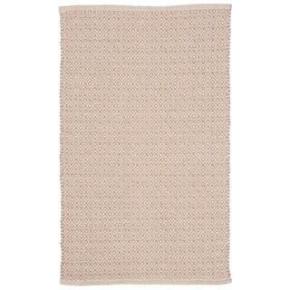 "Safavieh Hand-Woven Montauk Contemporary Ivory / Beige Cotton Rug - 2'6"" x 4'"
