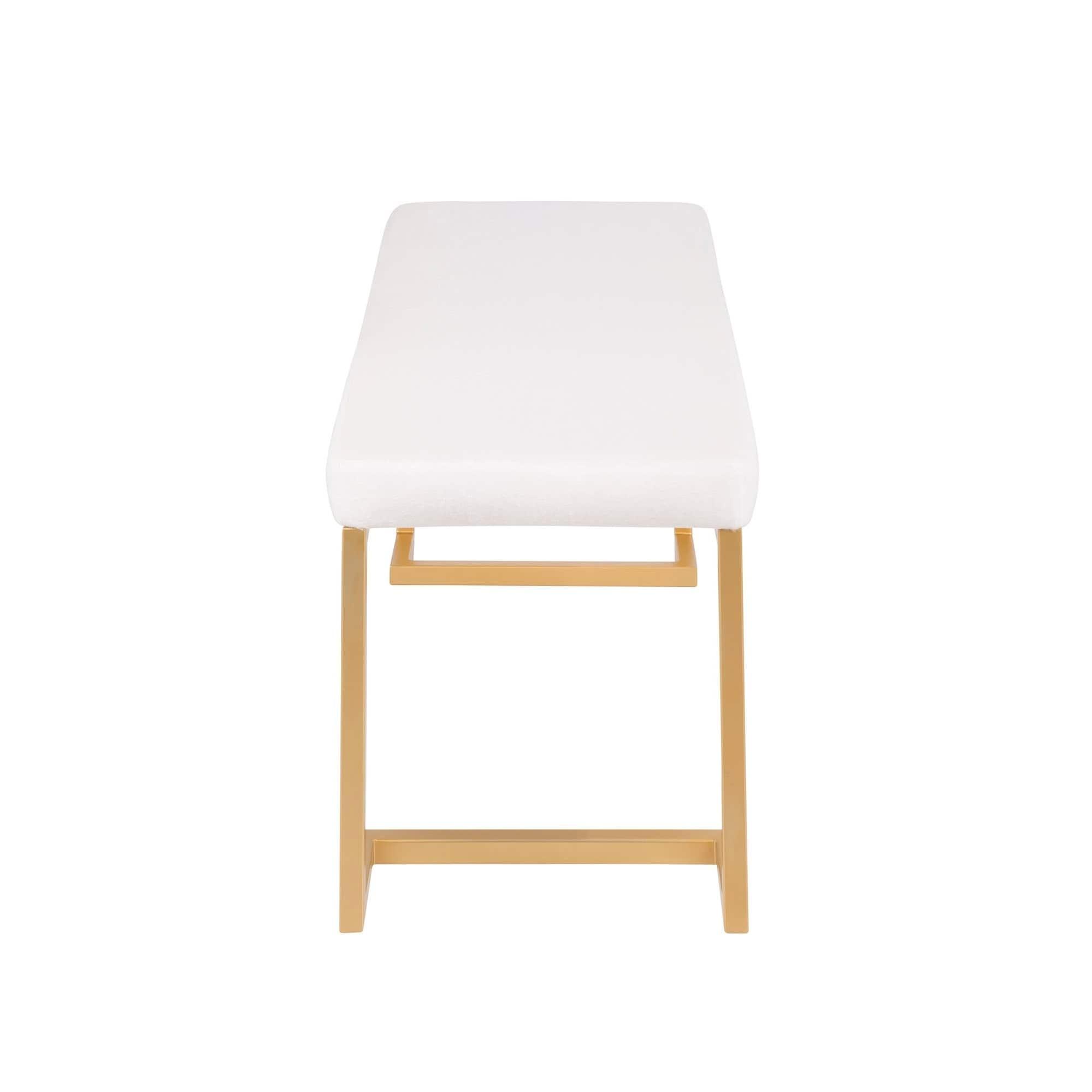 Surprising Midas Contemporary Glam Gold Dining Entryway Bench Dailytribune Chair Design For Home Dailytribuneorg
