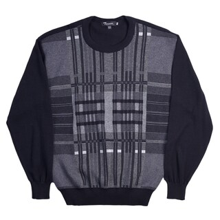 Tosani 100% Cotton Men's Crew Neck Sweater.