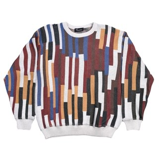 Tosani 100% Cotton Men's Crew Neck Sweater. Size: M