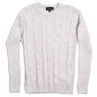 Tosani 100% Cotton Men's Crew Neck Sweater. Size: M
