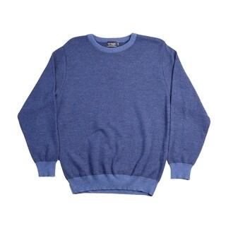 Braga Pure Merino Wool Men's Crew Neck Sweater. Size: L