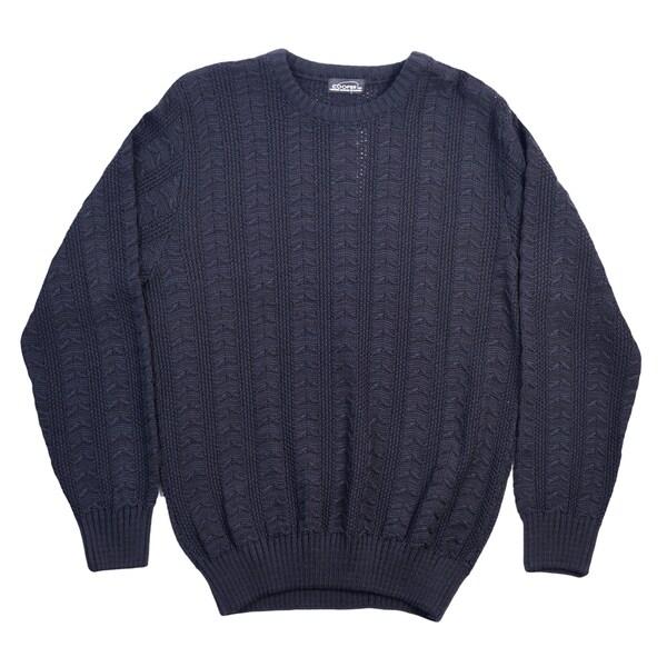 High Quality, Classy Men's Cooper Crew Neck Sweater.