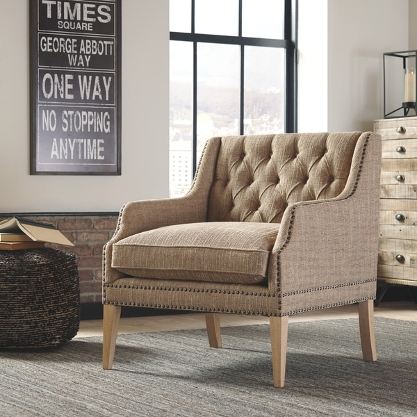 Shop Signature Design By Ashley Trivia Accent Chair Free
