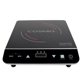 Cosmo 1800-watt Induction Cooktop with Rapid Heating and Safety Lock