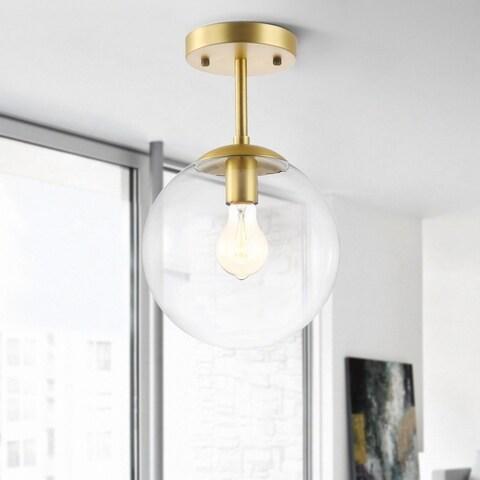 Light Society Tesler Globe Ceiling Light