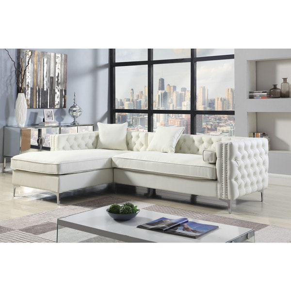 Shop Chic Home Monet Left Hand Facing Sectional Sofa L