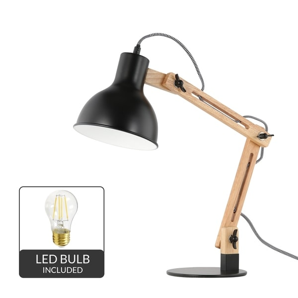 Light Society Galvan LED Task Table Lamp, LED Bulb Included