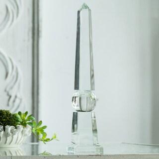 Obelisk Sculpture Table Décor, 4x4x21 inches