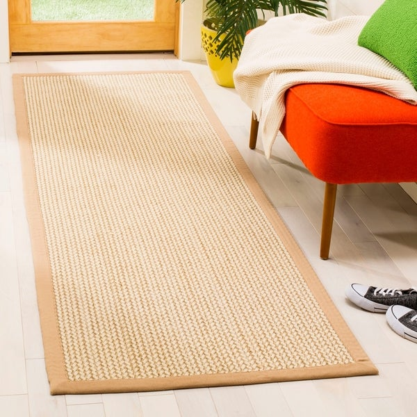 Safavieh Hand Woven Natural Fiber Contemporary Beige Sisal Rug 2 X27 6