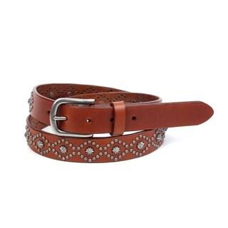 Old Trend Sunburst Leather Belt