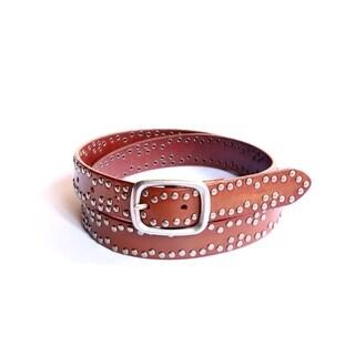 Old Trend Silverstud Leather Belt