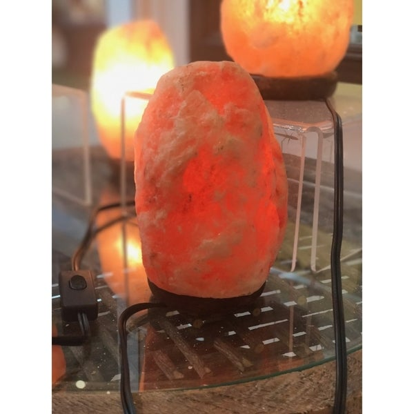Small Size Novelty Home Decor Natural Rock Salt Lamp 9 Inch High