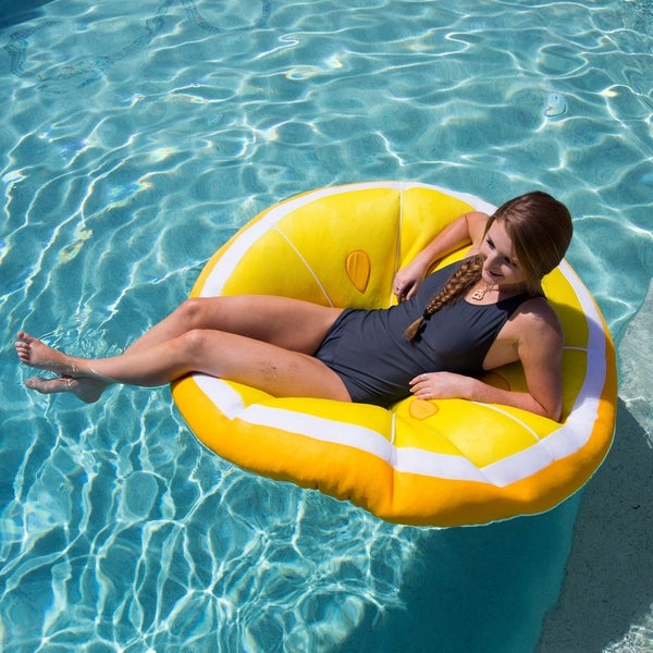 Big Joe Fruit Slice Pool Float
