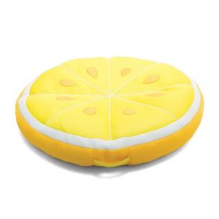 Big Joe Fruit Slice Pool Float (Option: Yellow - Polyester)