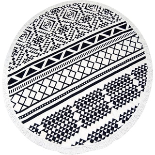 Link to Couture Home Collection Thick Round Yoga Mat Mandala Beach Towel Similar Items in Towels