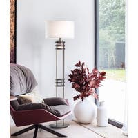 Nova Lighting Kobe Floor Lamp/ Charcoal Gray
