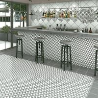SomerTile 9.75x9.75-inch Vendimia Oxford Porcelain Floor and Wall Tile (16 tiles/10.76 sqft.)