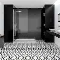 SomerTile 17.625x17.625-inch Lambeth Ceramic Floor and Wall Tile (5 tiles/11.1 sqft.)
