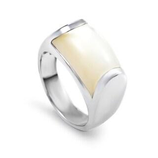 Bvlgari Tronchetto Women's White Gold Moonstone Ring