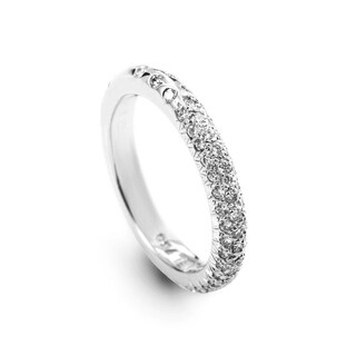Chanel White Gold Diamond Pave Band