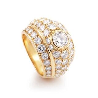 Cartier Yellow Gold Diamond Ring