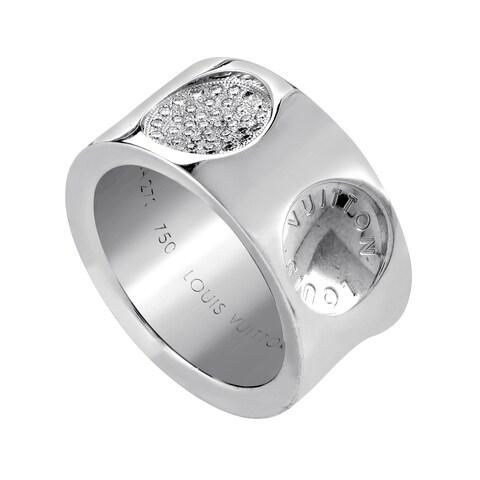 Louis Vuitton Empreinte White Gold Diamond Ring