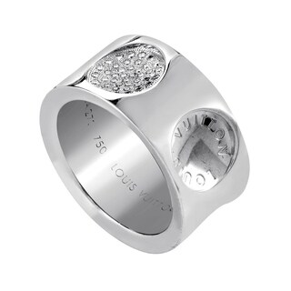 Louis Vuitton Empreinte White Gold Diamond Ring