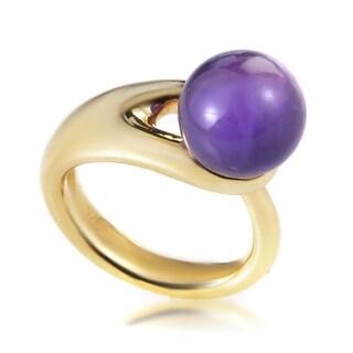 Boucheron Yellow Gold Iolite Sphere Ring